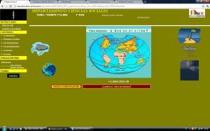 APRENDER  ON-LINE UN TEMA DE 1º DE ESO: TIEMPO Y CLIMA