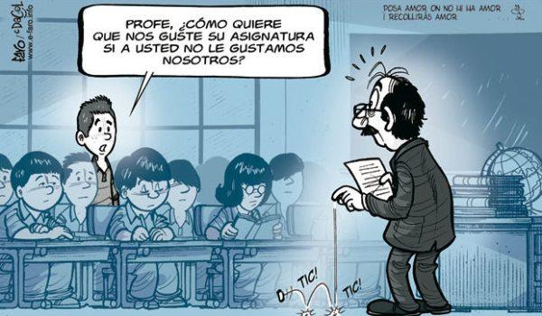 Profesores inquietos