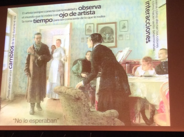 Diapositiva de la presentación . Montserrat Del Pozo.